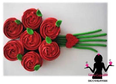 Tema cupcake sebagai hadiah ulang tahun paling berkesan bagi wanita