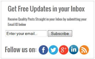 Simple Widget subscription social media plus