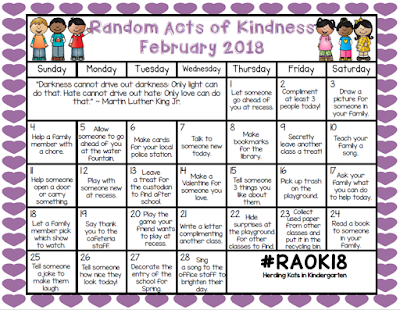 https://www.teacherspayteachers.com/Product/Random-Acts-Of-Kindness-Calendar-3617599