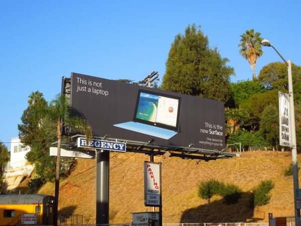 New Surface 2 billboard
