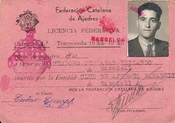 Licencia federativa de Teodoro Terrazas
