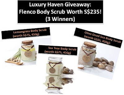 flenco mspa facebook body scrub giveaway