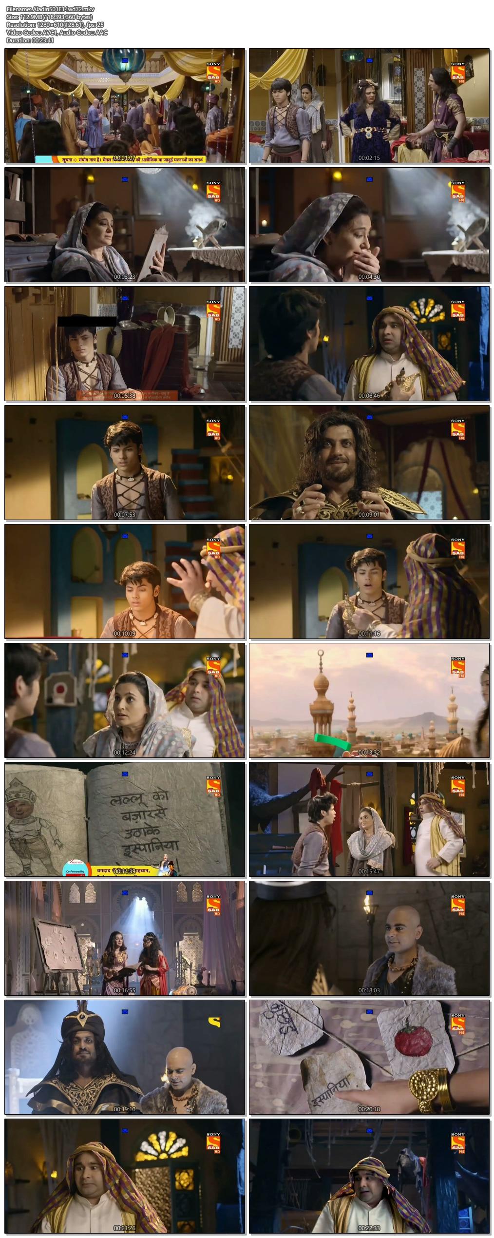 Screenshots Of Hindi Show Aladdin – Naam Toh Suna Hoga 2018 Episode 14 300MB 720P HD
