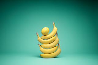 Preventive against coronary heart disease Banana