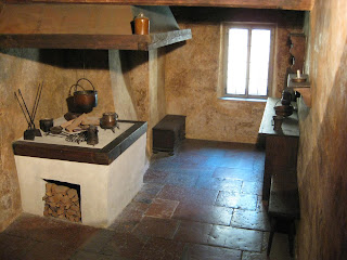 Kitchen in Mozart's birthplace