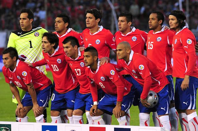 Formación de Chile ante Perú, Clasificatorias Brasil 2014, 11 de octubre de 2011