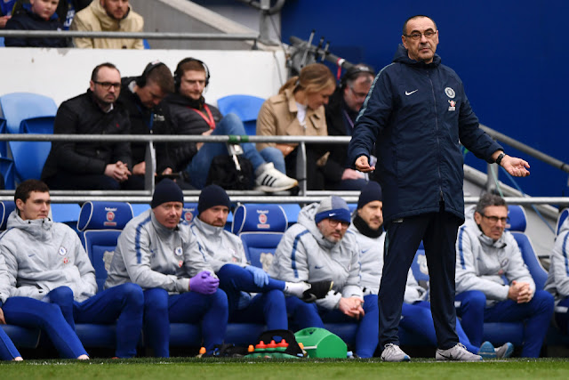 Maurizio Sarri - The fans have turned and it s time for Roman Abramovich to get involved.