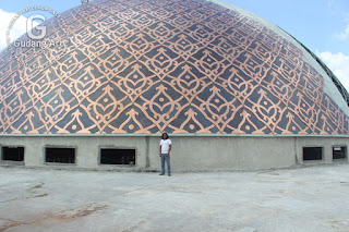 Pembuatan ornamen kubah masjid tembaga dan kuningan