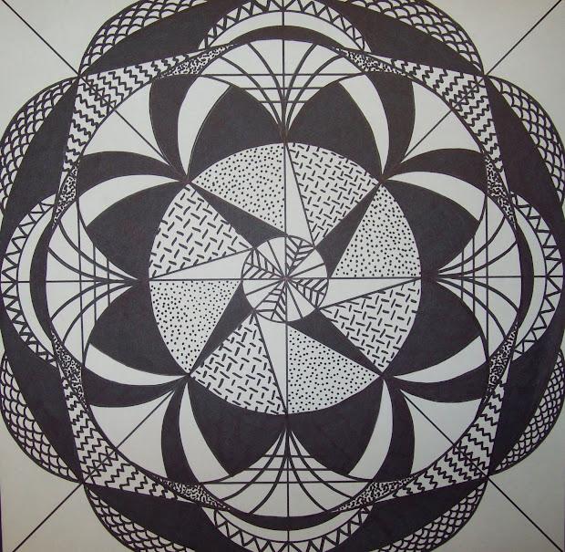 Radial Symmetry Design Art