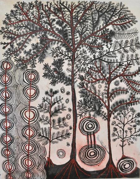 Artwork by Peter Mungkuri, #47-18 | imagenes de obras de arte abstracto, pinturas, abstract paintings, art pictures, cool stuff.