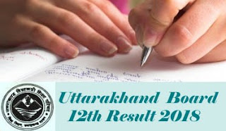 Uttarakhand Board 12th Results 2018, Uttarakhand Board 12th 2018 Result, UK Board 12th 2018 Result
