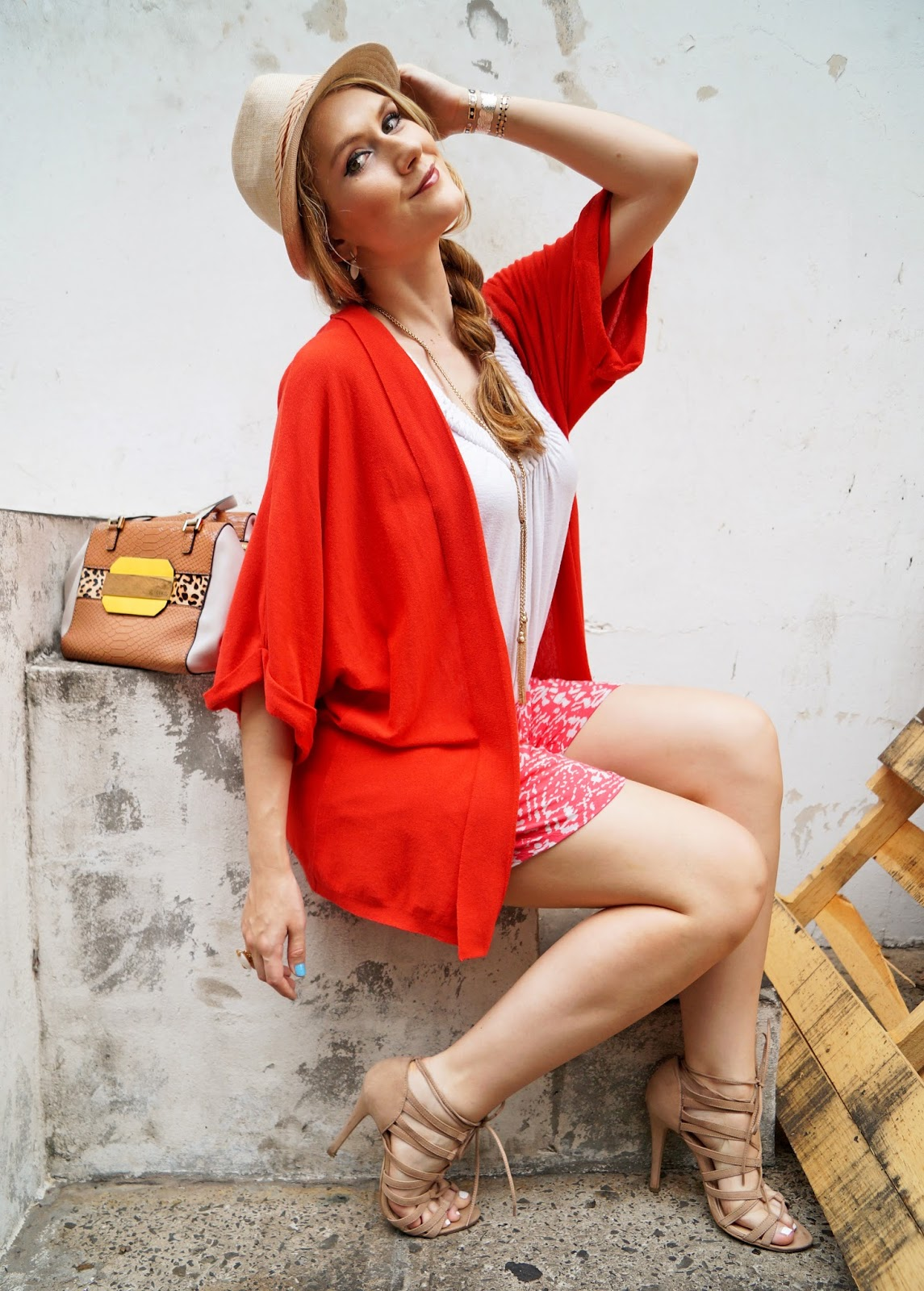 Bright and Colorful Outfit for Summer!