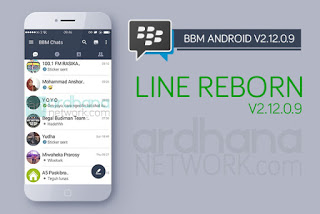 BBM Mod Tema Line Apk 2.12.0.9 Updated January 2016