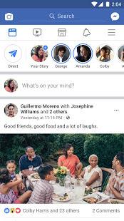 تحميل تطبيق التواصل الاجتماعي Facebook