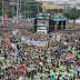 Marcha para Jesus reúne multidão em São Paulo