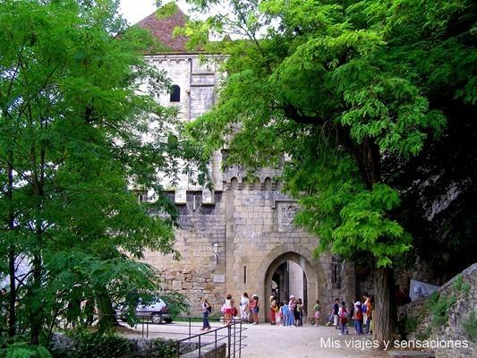 Puerta de Saint Martial, Rocamadour, Lot, Francia