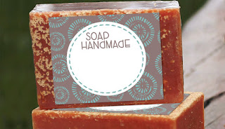 Image: Free Printable Soap Label Template