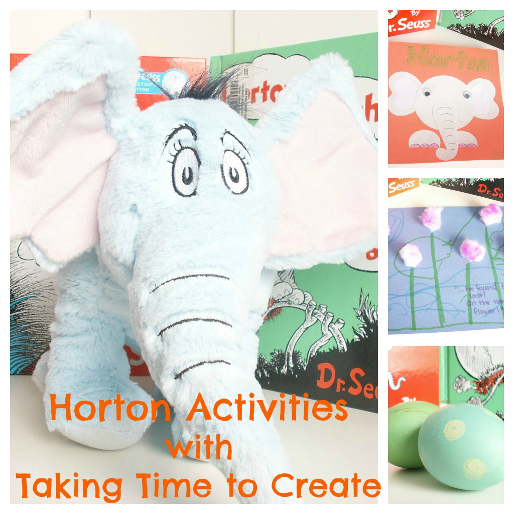 Taking Time To Create Dr Seuss A Thon Horton Hears A