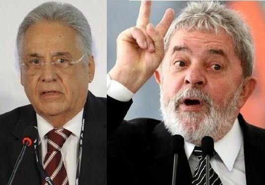 Resultado de imagem para FHC detona Lula