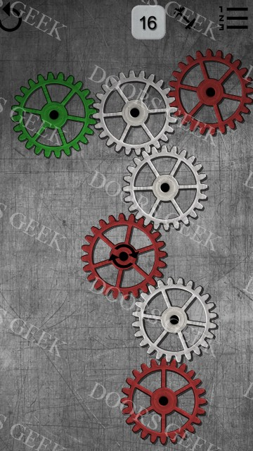 Gears logic puzzles level 16 solution doors geek for 16 door puzzle solution
