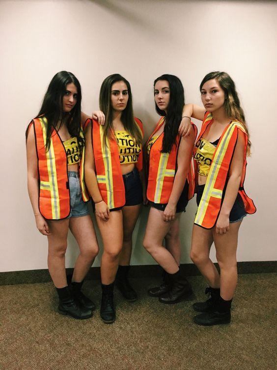 disfraces para 3 chicas