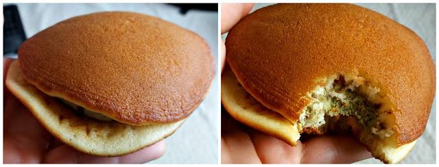 Sandwiche de pancakes japonés