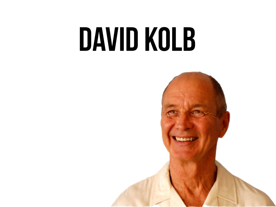 david a kolb David a kolb is the author of experiential learning (385 avg rating, 54 ratings, 4 reviews, published 1983), kolb learning style inventory, version 31.