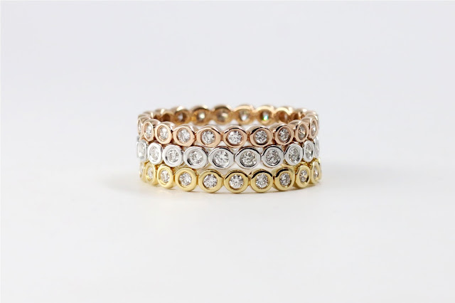 Bezel Eternity Trio Band