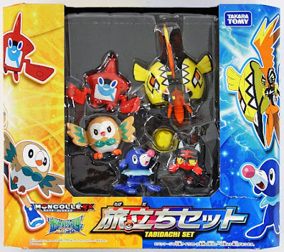 Tapu Koko figure hyper size Takara Tomy Monster Collection MONCOLLE EX SM Starter set