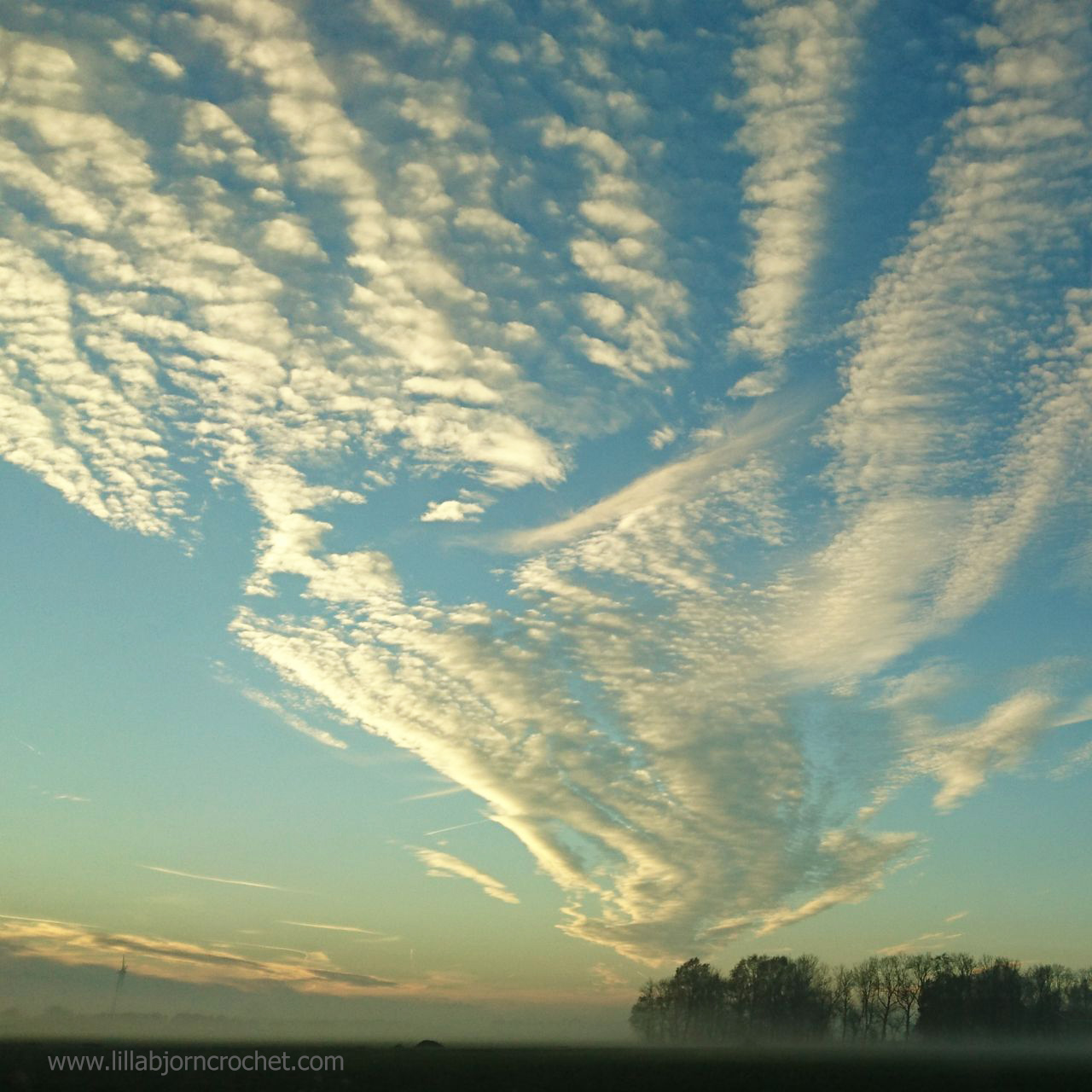 Autumn Sky in the Netherlands