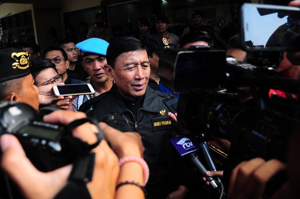Ditantang Balik Kivlan Zein, Wiranto Bilang Cukup