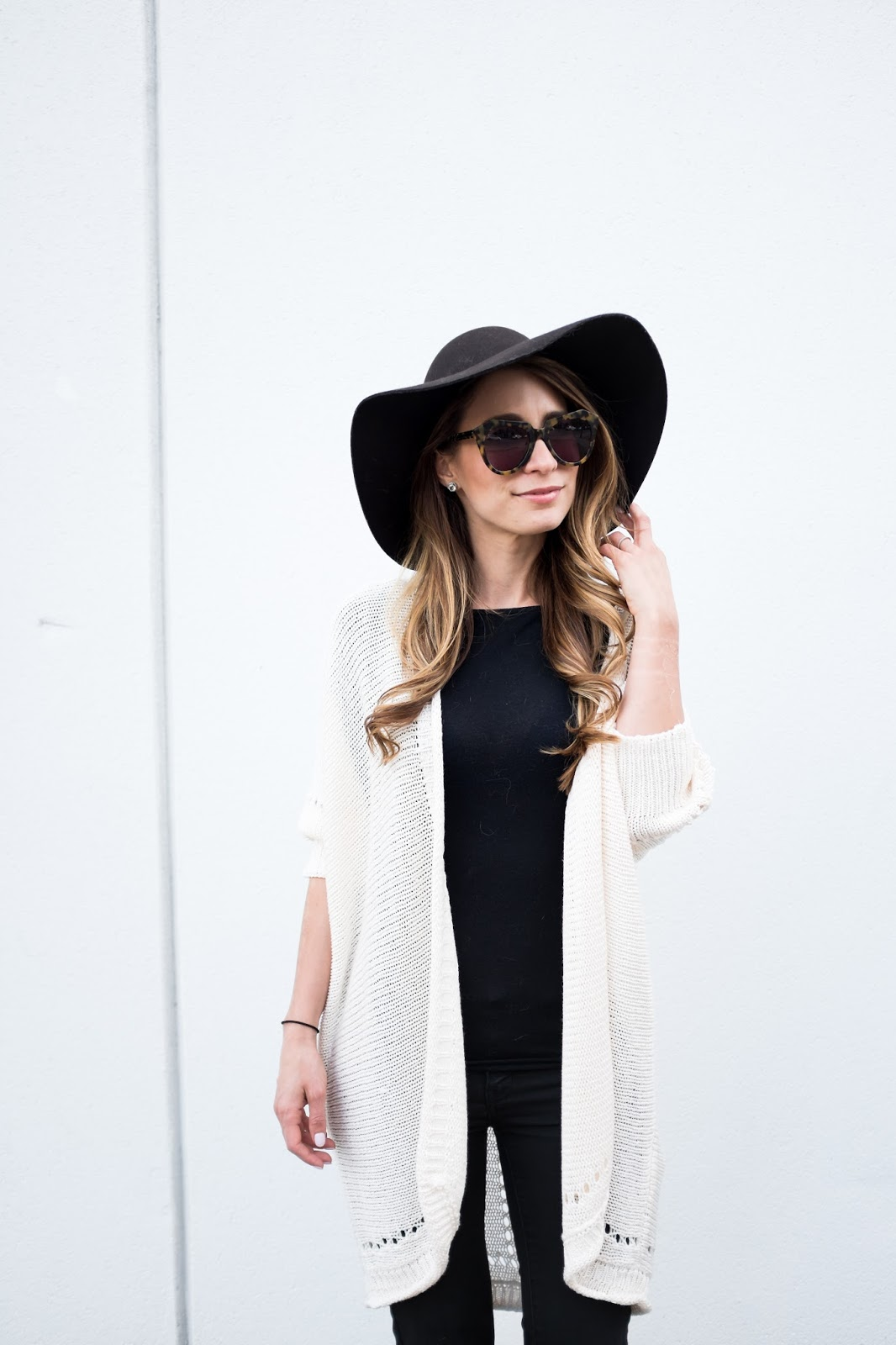 OOTD - The Oversized Long Cardigan | La Petite Noob | A ...