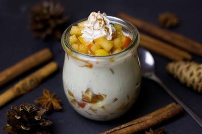Bratapfel-Vanille-Dessert