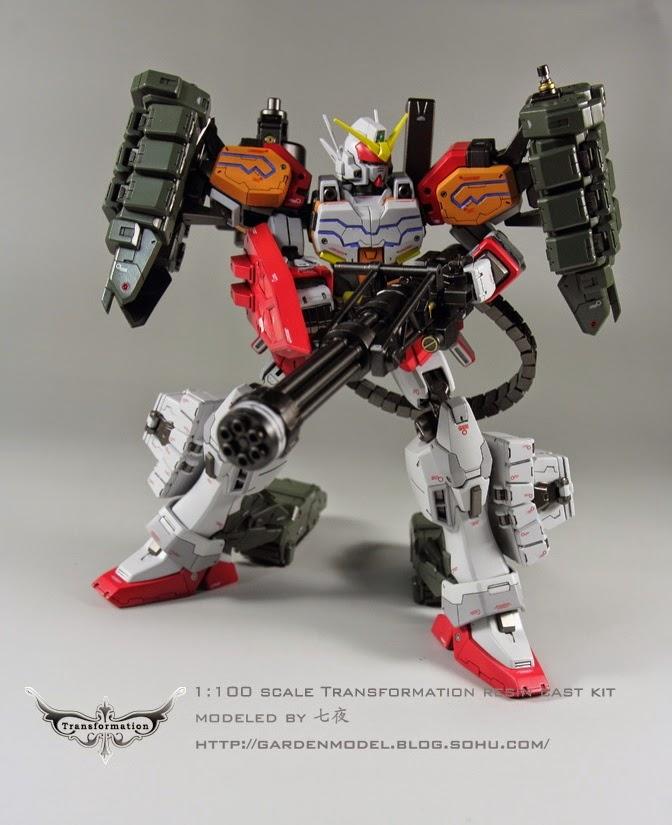 Custom Build: MG 1/100 Gundam Heavyarms EW Ver. + Igel Equipment