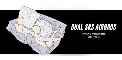 toyota rush dual airbag