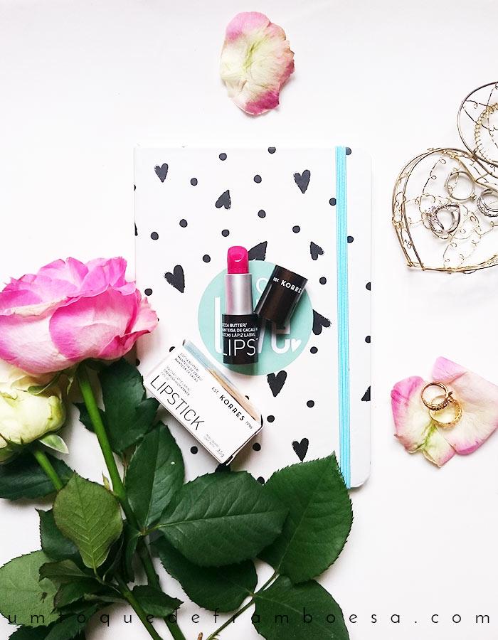 Resenha do batom cremoso hidratante Rosa Magenta da marca de cosméticos KORRE