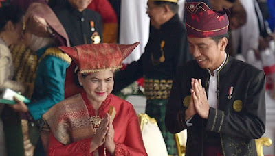 Ibu Negara Irania Jokowi