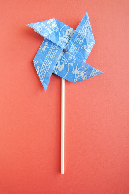Origami With Starburst Wrappers