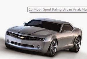 Mobil Sport Yang Banyak Dicari Anak Muda
