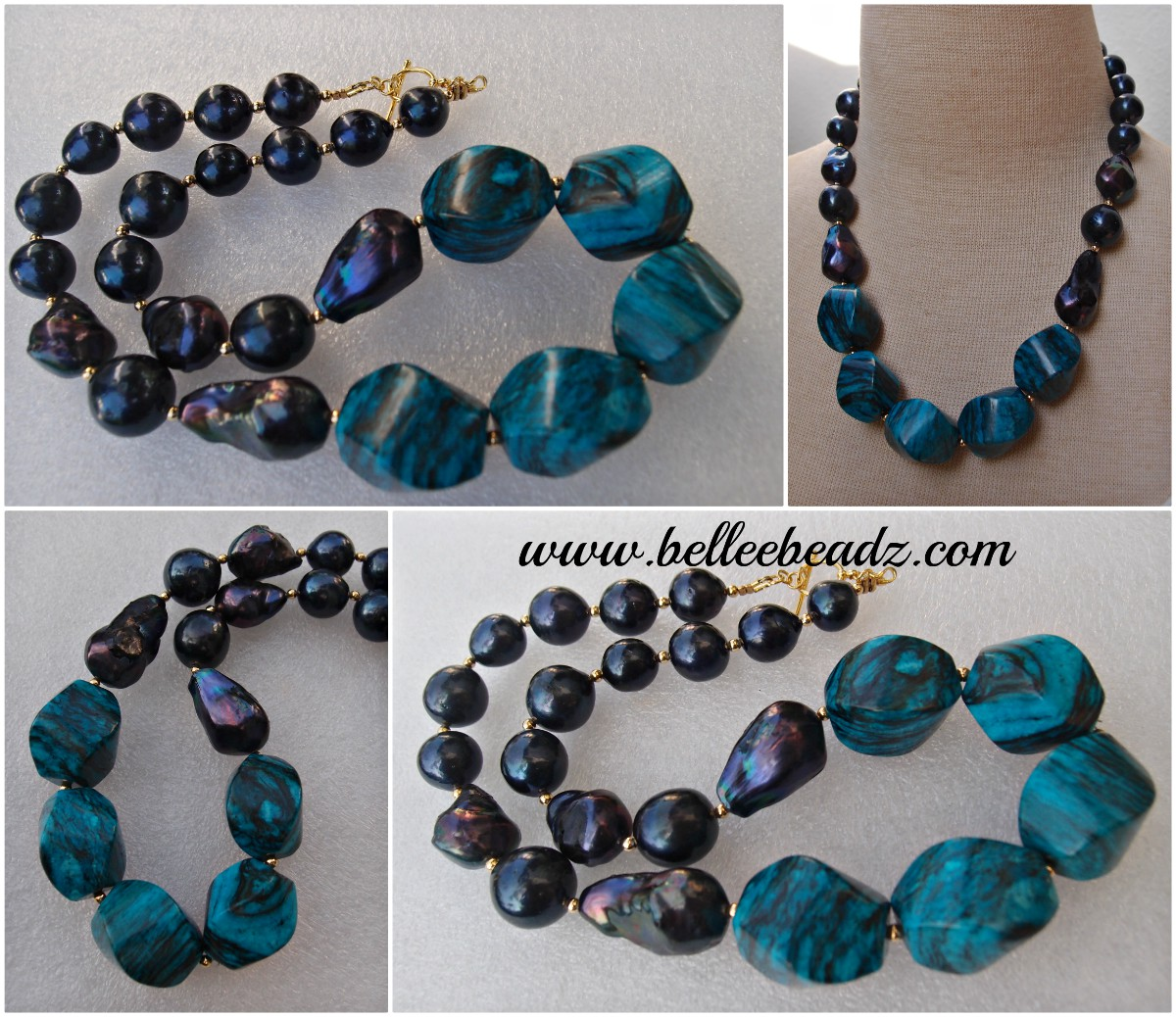 12 mm 9 Stunning Cushion Shaped Black Agate Gemstone beads
