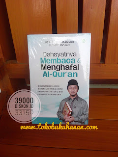 Buku Dahsyatnya Membaca dan Menghafal Al-Quran ustadz Yusuf Mansur