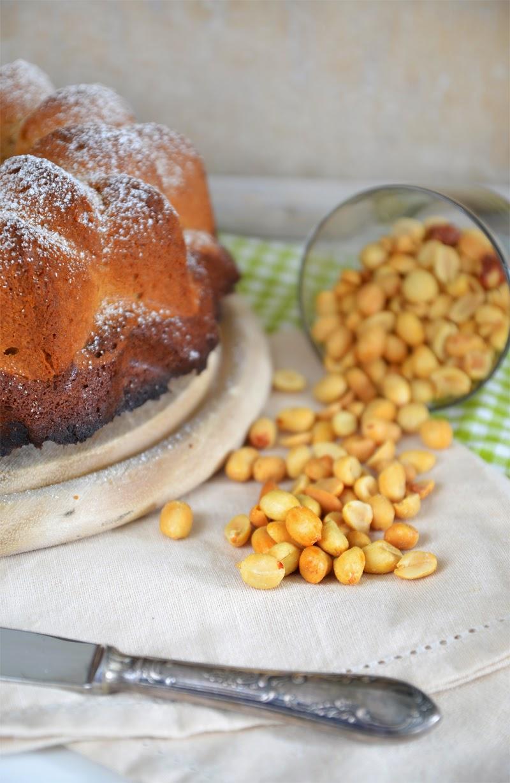Marmorkuchen mit Erdnussbutter
