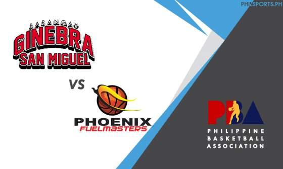 PBA: Barangay Ginebra San Miguel vs. Phoenix Fuelmasters