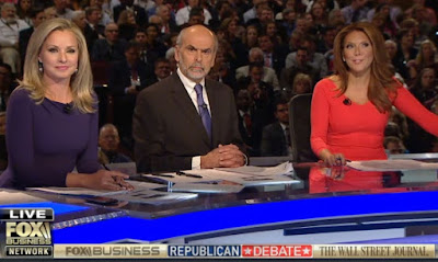 Moderators Sandra Smith and Trish Regan