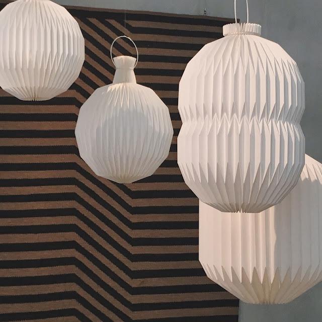 Scandi Paper Lanterns - Design Museum Danmark, Copenhagen