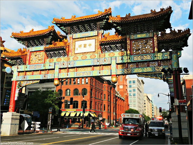 Puerta China en Chinatown, Washington D.C.