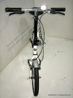 2 Sepeda Lipat DoesBike 1601 Convoy 16 Inci