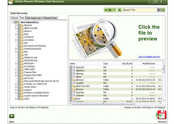 recuperar datos perdidos en windows