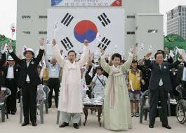 korea National Liberation Day on Aug. 15