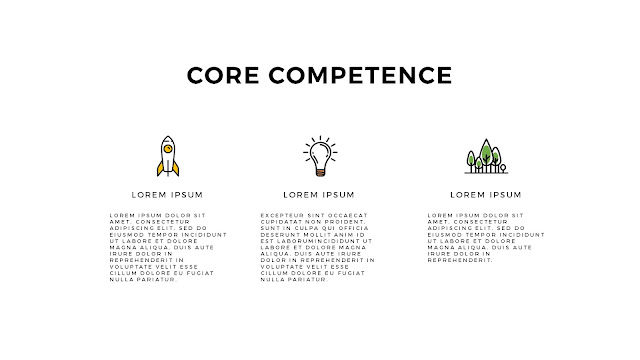 Core Competence Presentation with Free PowerPoint Template Slide 2